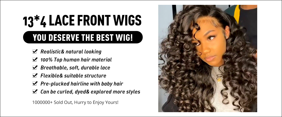 13x4 Lace Front Wigs