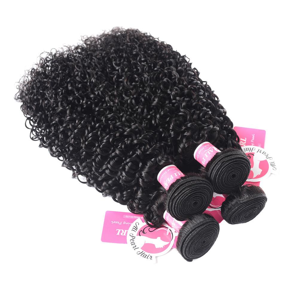 100 Virgin Remy Brazilian Virgin Kinly Curly Hair 4 -2973