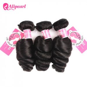 Ali Pearl Brazilian Virgin Hair Loose Wave 3 Bundles