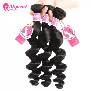 Alipearl Hair Loose Wave 3 pcs Indian Wave