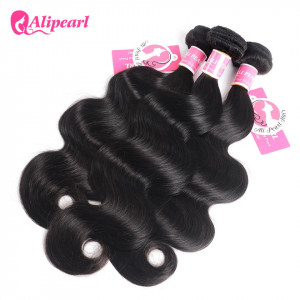 3 Bundles Body Wave Ali Pearl Malaysian Unprocessed Hair