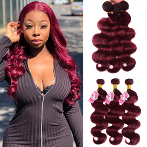 burg human hair bundles