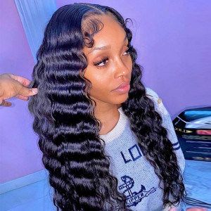 deep crimped hair