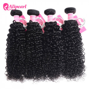 Alipearl Malaysian Virgin Hair Kinky Curly 4 Bundles