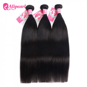 Alipearl Straight Hair 3 Bundles Indian Hair