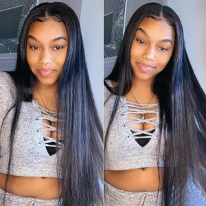 Virgin Hair Straight lace Closure