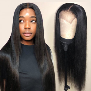straight hair lace wigs