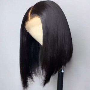 Short Bob Straight Wig Human Hair Lace Front Wigs For Women Upart Bob Wig 4*4 Lace Wig