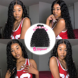 Natural Wave 3 Bundles Alipearl Peruvian Hair Natural Color