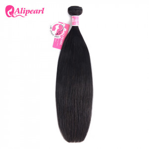 Ali Pearl Hair Indian Virgin Hair Straight 1 Bundles/Lot