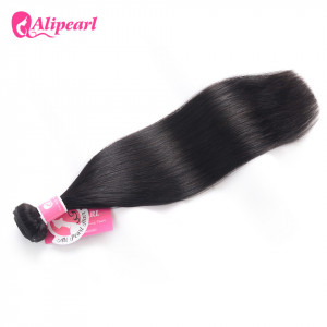 1 Bundle/Lot Ali Pearl Brazilian Straight Virgin Hair