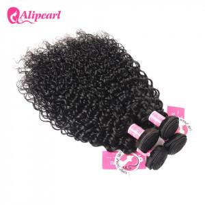 Alipearl Indian Natural Wave Hair Bundles 4 pcs