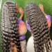 deep wave crimp lace wig