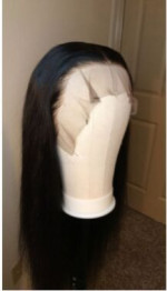 Hair is AMAZING lace is great you can...