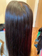 Amazing closure I did not have to plu...