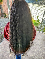 The hair is very soft and no bad smel...