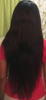 This hair is great. The Wefts are thi...
