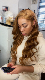 Beautiful hair, got lots of complimen...