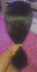 Soooo the hair is beautiful!!!! Soft....