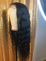 This hair is very beautiful and thick...