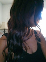 The color is very pretty and the hair...