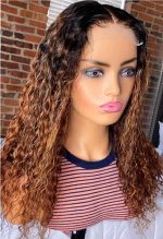 I love this hair, made it into a wig