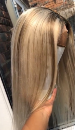 The hair was great quality and took t...