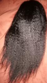 I received the hairI give alipearl cu...