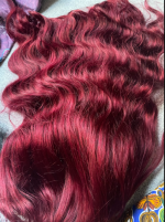 The wig is superb, the hair is very n...