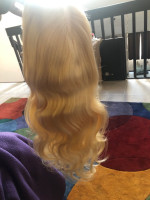 The hair is really pretty extremely s...