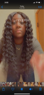 Hair is very beautiful and thick . I ...