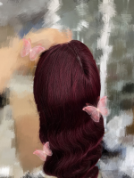 I absolutely love the hair. It's very...