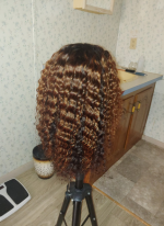 I just received my order and the hair...