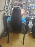 This hair shocked me. I normally don'...