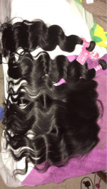 Amazing hair very soft and thick, lov...