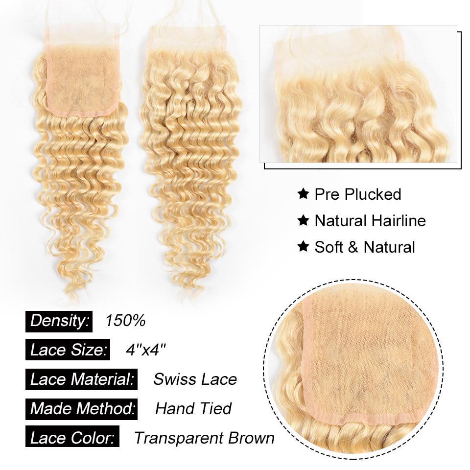 613 Hair Color Deep Wave Weave
