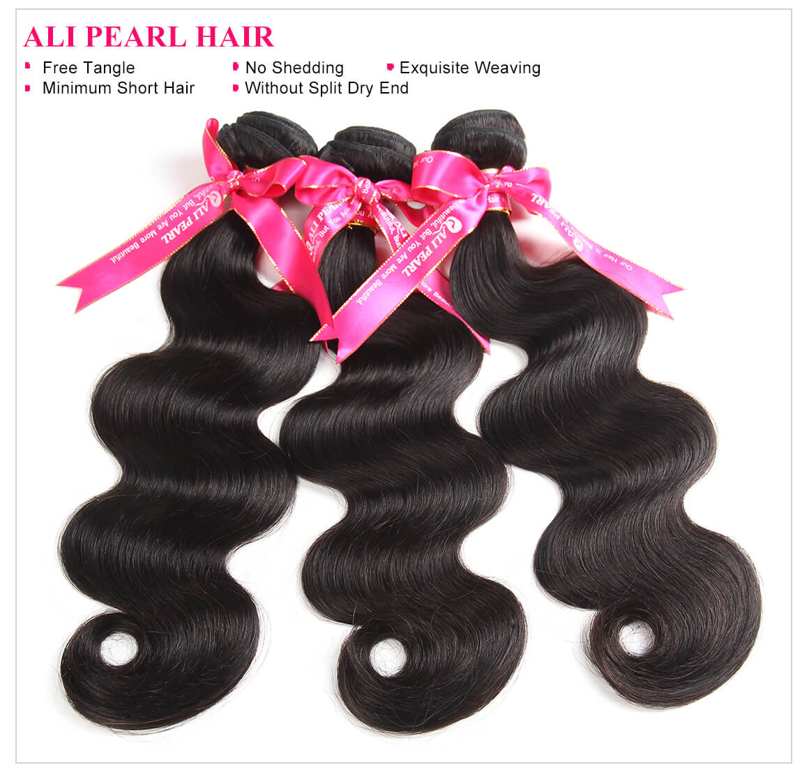 Alipearl Brazilian Body Wave 3 Bundles With Frontal Closure Brazilian Hair Weave Bundles With Frontal 13x4 Remy Hair Extension 3/4 Bundles With Closure Hair Extensions & Wigs