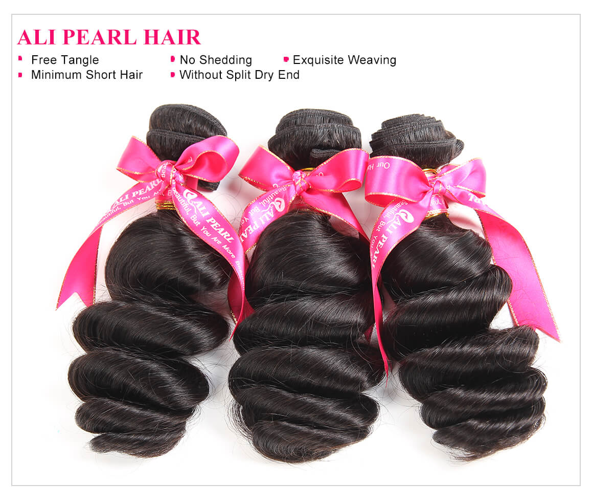 Peruvian Hair Loose Wave 3 Bundles