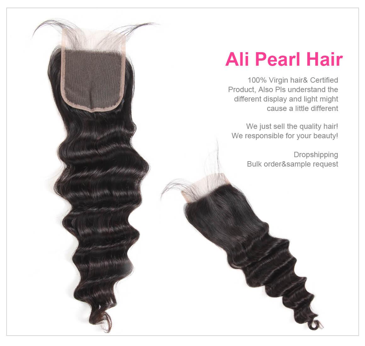 Peruvian Lace Closure Hair