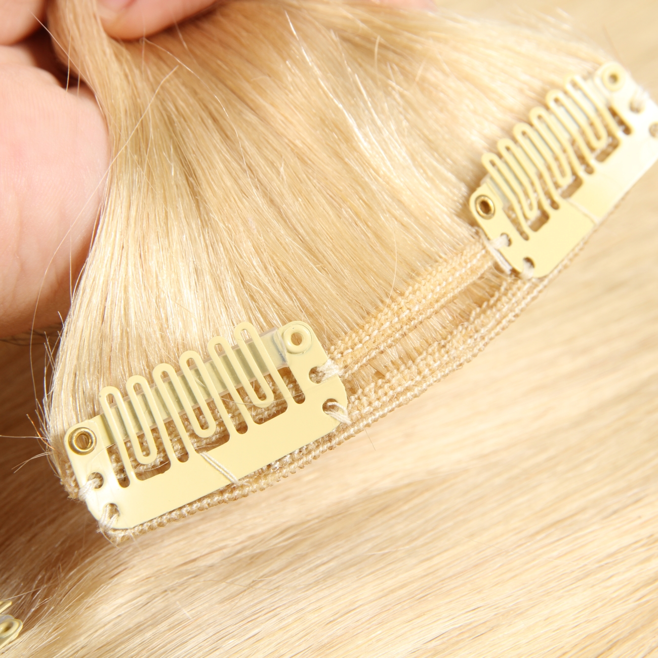 613 Blonde Color Human Hair Extensions