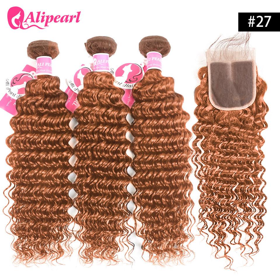 Ombre Hair Color Deep Wave Brazilian Hair Bundles Deals