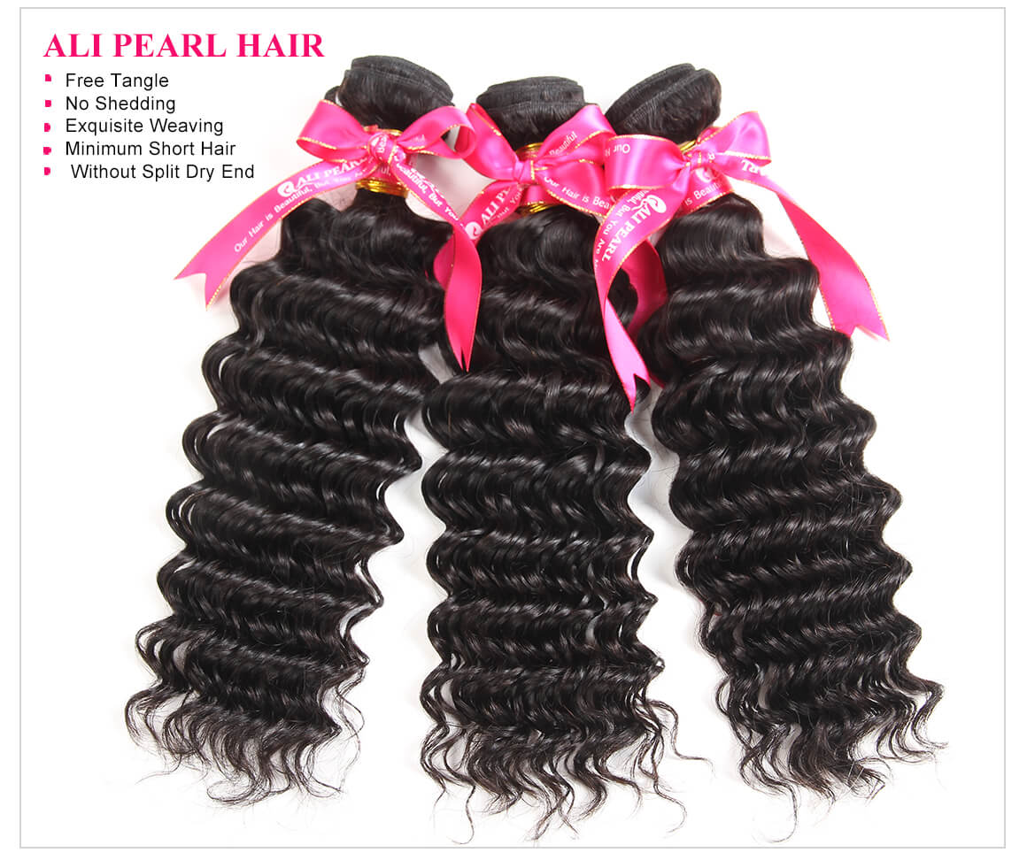 3 Bundles Deep Wave Hair
