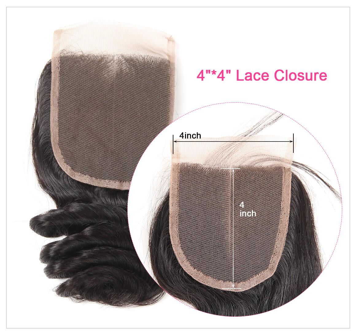 4*4 Lace Closure