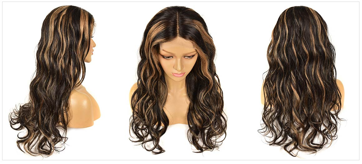 highlighted wigs for black hair