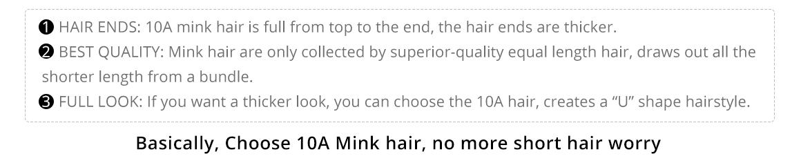 Brazilian Mink Virgin Hair