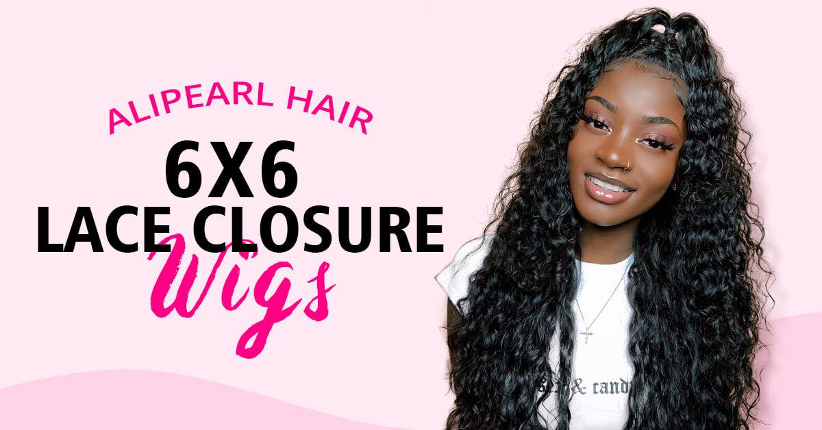 Deep Part 6x6 Lace Closure Wig Alipearl Hair