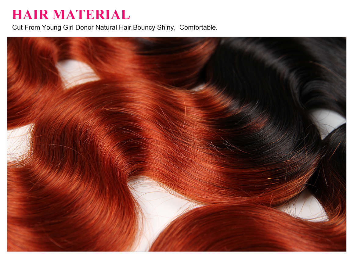 Brailian Virgin Ombre Hair