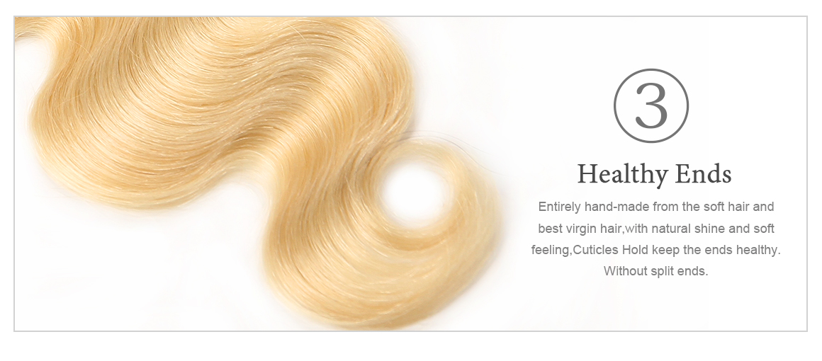 Baby Hair Ombre Hair