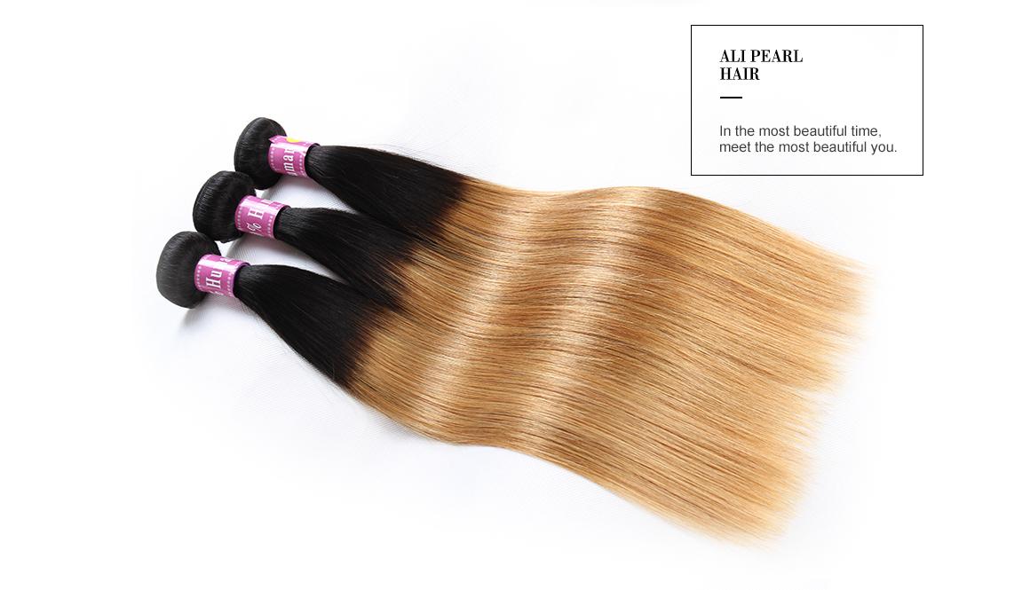 Brazilian Ombre Color Hair